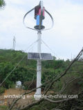 Generador de turbina 2000wwind Energía con Nueva Tecnología Avanzada (WKV-2000)