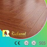 Plancher en stratifié en bois stratifié en plâtre en vinyle à plaques en vinyle de 12,3 mm E0 AC4