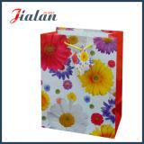 Bolso de compras de papel de encargo impreso alta calidad de la insignia barata de las ventas al por mayor
