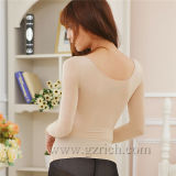 t-셔츠 Turtle Neck 또는 Women Body Shaping Lace Molding Warm Clothes