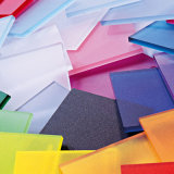 Plastic van het Product Transparant pvc- Blad met Goede Diëlektrische Sterkte