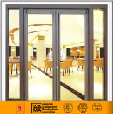 Алюминиевая и стеклянная сторона повиснула дверь (стандарт 2047)