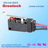 Aprovação Global de Segurança Micro Interruptor amplamente utilizados na indústria automóvel