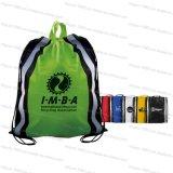 Sacchetto di acquisto non tessuto con il marchio/sacchetto di Drawstring (M.Y D-032)