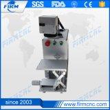 Máquina de la marca del laser de la fibra para el aluminio de goma plástico