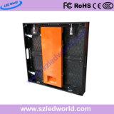/D'intérieur de la publicité P7.8 programmable panneaux de mur coulés sous pression par location polychrome électronique extérieure de panneau d'affichage de signe de DEL pour l'étape
