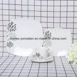 La vaisselle en porcelaine de Chine Fabricant défini avec forme différente