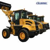 Compactos e articulados Mini Tractores/Via Carregadeiras Skid Steer Dumper, retroescavadeira carregadeira, Front End carregadora de rodas do trator