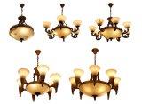 LED-hängende Lampe mit spanischem Marmor für Haus oder Hotel