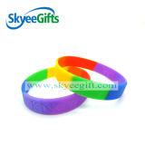 Wristband del silicone di segmento di disegno per l'esportazione