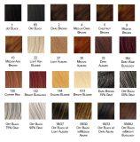 Pelucas llenas del cordón del pelo indio de Huma de la Virgen