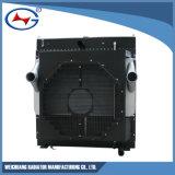 Doosan 발전기 세트를 위한 Dp180la-04/Ztd8e-55 물 구리 방열기