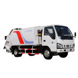 Isuzu Chassis 6.5cubic Meters Garbage Refuse Compactor Truck