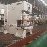 Jh21 máquina aluída da imprensa de perfurador mecânico do frame da série C única com uma potência de 200 toneladas