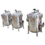 Filtre multi-sac pour huile de jus d'eau minérale au lait