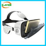 cassa di vetro di Vr del telefono mobile 3D con la cuffia avricolare stereo