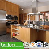 Armário de cozinha de madeira nominal superior