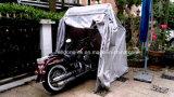 Cubierta plegable Carpa impermeable al aire libre de la motocicleta