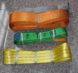 Imbracatura di sollevamento della cinghia di sicurezza dell'imbracatura dell'estremità dell'imbracatura della tessitura del poliestere