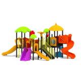 Parque Infantil exterior de plástico para crianças e crianças (JYG-15002)