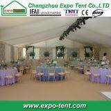 パキスタンの1000人の結婚披露宴の玄関ひさしのテント