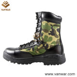 Ботинки боя камуфлирования холстины Camo воинские (CMB009)