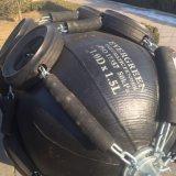 Marine guardabarros estriada de goma para proteger el acoplamiento