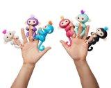 Fisch-Finger-Spinner-Fallhammer-Finger-elektronische intelligente Tastfarben-Kind-pädagogisches Spielzeug