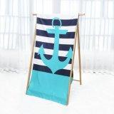 Voyage en daim personnalisé Quick-Dry microfibre Serviette de plage de sports avec sac de maillage