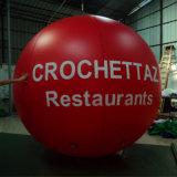 grande aerostato di pubblicità gonfiabile dell'elio di 3m per la mostra