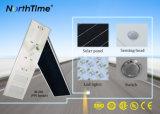 90watt 고품질 지적인 전화 APP 통제되는 PIR 태양 램프