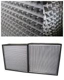 Filter van de Lucht van de Separator HEPA van het Aluminium van de Plooi van de Reeks van Gyk de Diepe