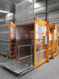 Grua da construção das gaiolas da alta qualidade Sc200/200 de Israel/tirante da construção/elevador dobro da construção