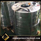 Bande en acier galvanisé pour la fabrication de gaines en carton ondulé