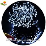 Noël léger solaire de panneau de chargeur de batterie de lampe de la chaîne de caractères DEL de lumière de libellule