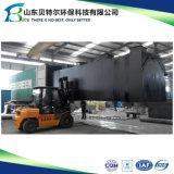 traitement d'eaux d'égout domestiques de bioréacteur de membrane de Mbr d'usine de traitement des eaux résiduaires 10tons/Hour