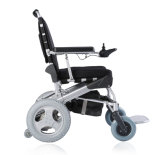 무브러시 모터를 가진 상한 1 두번째 전기 Foldable 휠체어