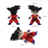 Cartoon Dragon Ball Goku Modelo USB 2.0 Memory Stick Flash Pen Drive