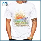 Chemise de circuit de T-shirt d'hommes estampée par archive de coutume occasionnelle