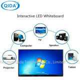 10 schermo attivabile al tatto infrarosso Smartboard della visualizzazione LED Whiteboard 1920*1080 dell'affissione a cristalli liquidi di tocco del punto per il banco di Digitahi