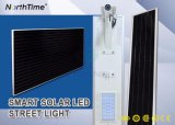 30W intelligente einteilige LED Solarstraßenlaternen mit Lithium-Batterie