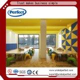 Comitato di parete decorativo acustico della fibra di poliestere della scheda della parete interna