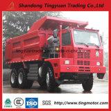 De Mijnbouw die van de Vrachtwagen van de Stortplaats van China HOWO 6X4 de Vrachtwagen van de Stortplaats met Grote Kwaliteit gebruiken