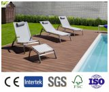 Decking ao ar livre do revestimento WPC da piscina