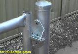 El bastidor de tubo de capturas y de dos vías de la puerta de capturas