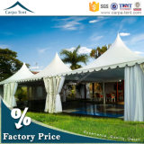 Highquality拡張可能Stylish Peakedの庭Pagoda Marquee Tent 3mx3m、4mx4m、5mx5m、6mx6m