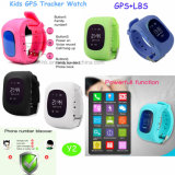 Het draagbare GPS van het Kind/van Jonge geitjes Horloge van de Drijver met Echt - de Plaats van de tijd Y2