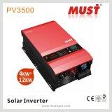 24V 6kwの単一フェーズ低周波インバーター価格の太陽インバーター