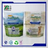 De alta calidad OEM de pie 3 capas laminadas alimentos para mascotas Bolso metalizado