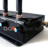 Emittente di disturbo mobile senza fili registrabile Cellular/GPS/WiFi, del segnale di potere emittente di disturbo 5g